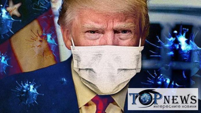 Доналд Тръмп, COVID-19, маска