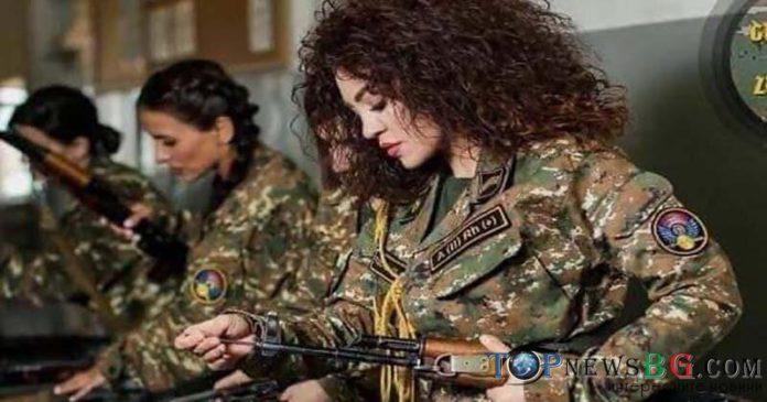 жени, войници, Армения