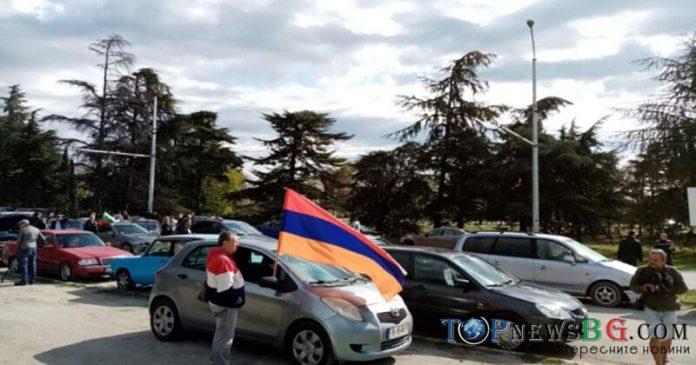 Арменци, Варна, Шествие