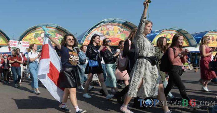 Беларус протести задържани