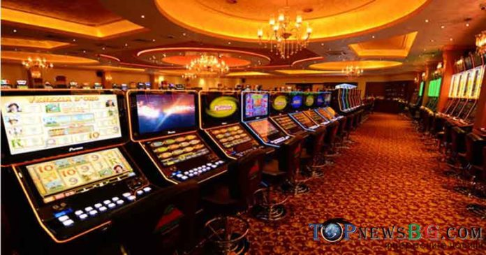 комарджия, казино, игрална зала