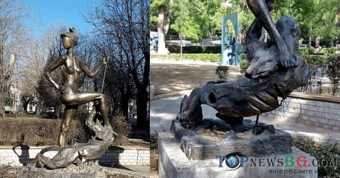 Варна, Диана, статуя, колаж