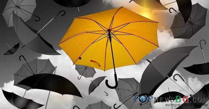 времето, прогноза, жълт код, валежи
