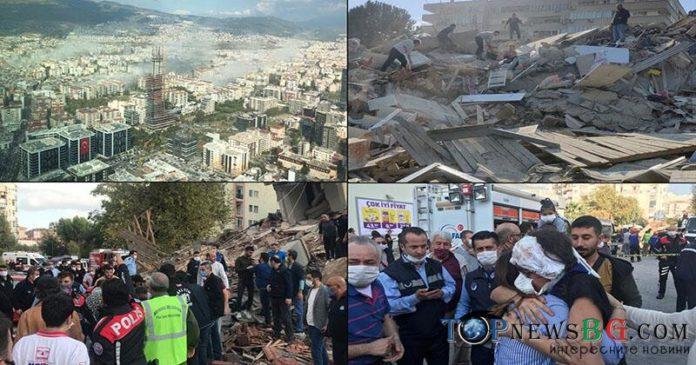 жертви, земетресение, Измир