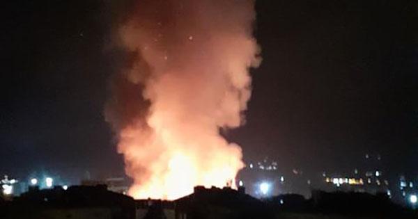 пожар, Варна,