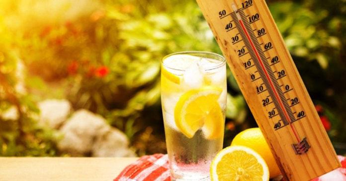 прогноза за времето - жега
